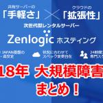 ファーストサーバー(Zenlogic)障害事件まとめ