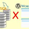 WordPressでサイトを作る為に必要なMySQLの役割