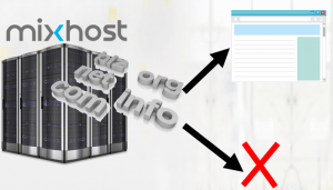 mixhostでドメインのリダイレクトと削除の手順を紹介