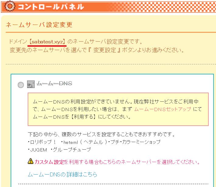 カラフルボックス_ネームサーバー2