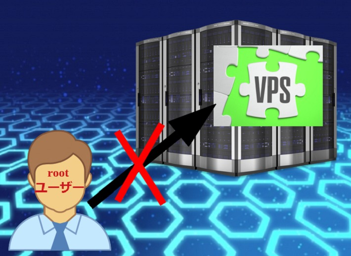 rootユーザーでのVPSへのログインを禁止する
