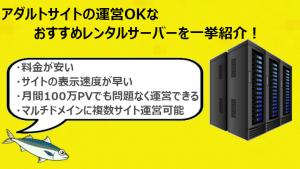 アダルトサイトOKなレンタルサーバー21個を紹介【2019年版】